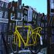 gele fiets op de Gaardbrug 72